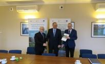 Podpisanie umowy z LRGD Pojezierze Dobiegniewskie